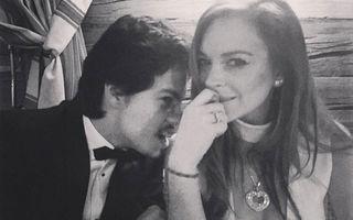 Lindsay Lohan s-a logodit cu iubitul rus