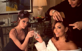 Eva Longoria şi Victoria Beckham, două prietene bune care se distrează pe Instagram - VIDEO