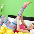 Fitness. 5 exerciţii de făcut în pijamale. Nu ai nevoie de abonament la sală!