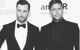 Ricky Martin, prima apariţie pe covorul roşu cu noul iubit
