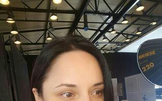 Cum arată Andreea Marin înainte de şedinţa de machiaj - FOTO