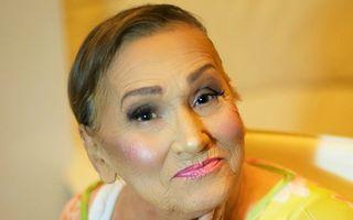 Transformare uimitoare. Cum arată o femeie de 80 de ani după machiaj