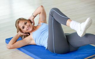 Cele mai eficiente exerciţii pentru un abdomen plat