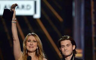 Exemplul unei femei puternice: Celine Dion, emoţionată de surpriza fiului ei