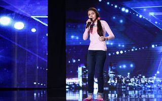 """Românca Laura Bretan cucereşte SUA la 13 ani: A ajuns în semifinale la """"America's Got Talent""""! - VIDEO"""