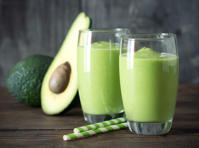 shake cu avocado