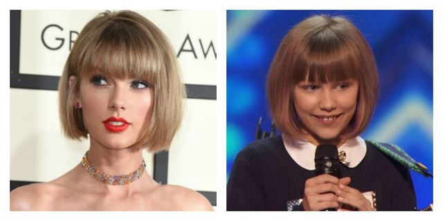 Fetita care seamana cu Taylor Swift