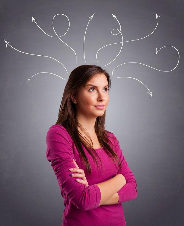 femeie minte creier