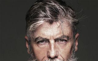 A ajuns model după ce și-a lăsat barbă la 60 de ani! - FOTO