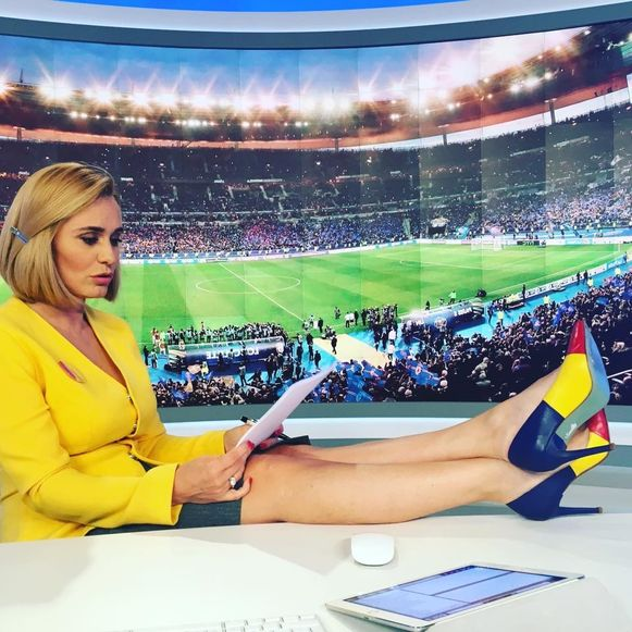Andreea Esca România fotbal