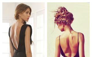 Cum să porți o rochie cu spatele gol în această vară