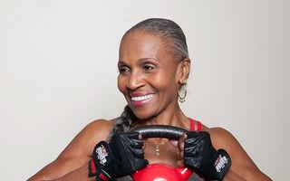 Cea mai tare femeie din lume: La 80 de ani e campioană la culturism!