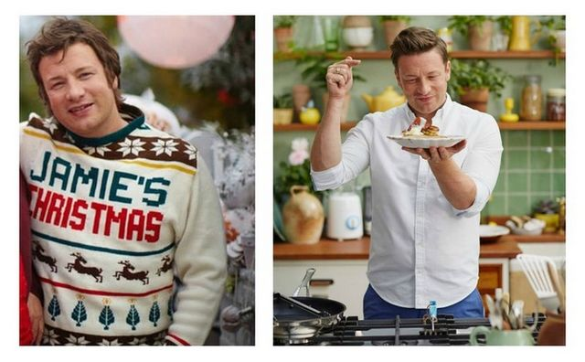 Jamie Oliver inainte si dupa ce a slabit 12 kilograme