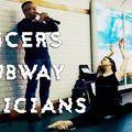 Ce frumos! Dansatorii i-au luat prin surprindere pe muzicienii de la metrou VIDEO