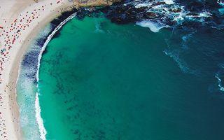 10 imagini din Paradis: Cele mai frumoase plaje, văzute din cer