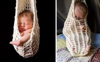 La ce se aşteptau şi ce a ieşit! 20 de fotografii nereuşite cu bebeluşi