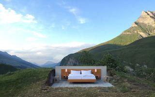 Camera cu cea mai tare vedere: O noapte în hotelul fără pereţi costă 230 de euro!