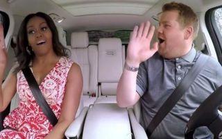 Michelle Obama, karaoke în mașină: Clipul care a făcut senzaţie pe internet