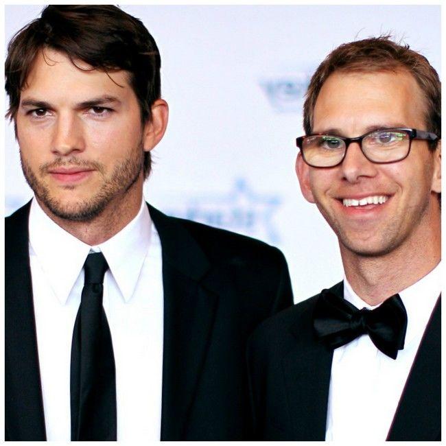 Ashton şi Michael Kutcher