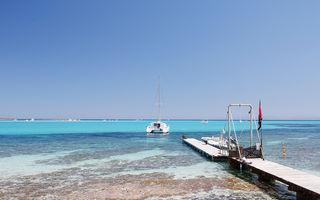 2 plaje ultraexotice din nordul Sardiniei - La Pelosa şi Le Saline