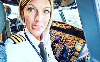 E pilot de avion şi are o pasiune care i-a adus mii de fani pe Instagram