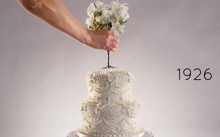 Video: Cum s-a schimbat tortul de nuntă în ultimii 100 de ani