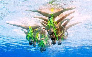 Spectacol la Rio: Cele mai frumoase imagini de la înot sincron feminin