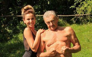 A făcut fitness cu bunicul de 80 de ani şi a devenit model