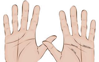"""Ai litera """"M"""" în palmă? Iată ce înseamnă!"""