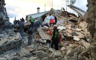 Cel puţin 247 de morţi după cutremurul de 6,2 grade din Italia