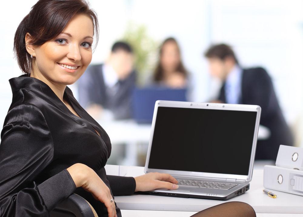 Femeie la locul de munca
