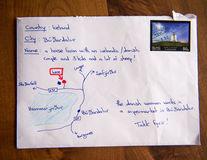 A trimis o scrisoare fără să ştie adresa, iar plicul a ajuns la destinaţie. Cum a fost posibil?