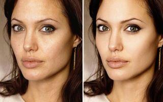 11 imagini incredibile cu vedete înainte şi după Photoshop