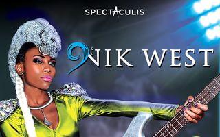 Supranumita Lenny Kravitz la feminin, chitarista NIK WEST concerteaza pe 17 octombrie in orasul cu chef de viata