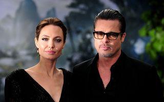 Angelina Jolie şi Brad Pitt divorţează!