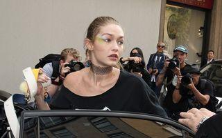 Gigi Hadid, luată pe sus de un fan. Vezi reacția violentă a modelului!