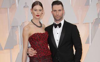 Adam Levine, solistul trupei Maroon 5, a devenit tătic