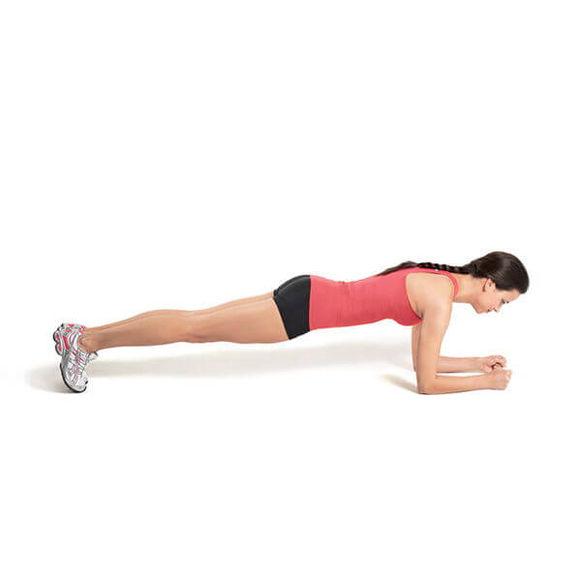 Exercitiu de tip plank sau plansa