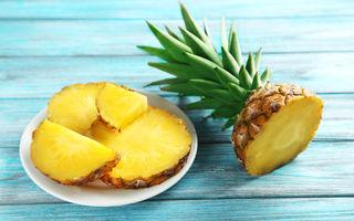 De ce te arde limba când mănânci ananas?