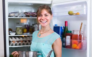 Frigiderul poate conține peste 8000 de bacterii! Află cum să-ți protejezi sănătatea!