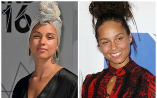 Alicia Keys, fără machiaj. Care sunt secretele ei pentru un ten impecabil?