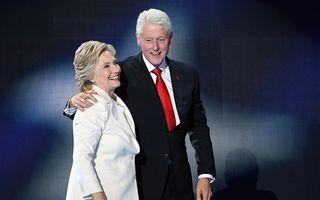 Cel mai puternic cuplu din America: Hillary şi Bill Clinton, de-a lungul anilor