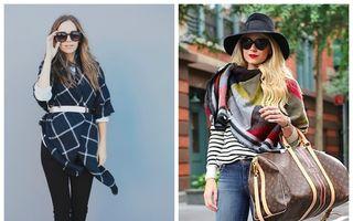 Cum să porţi o eşarfă groasă? 10 idei geniale
