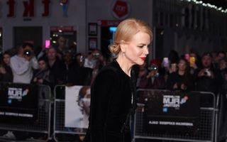 Nicole Kidman, sexy la 49 de ani: Ce rochie a purtat pe covorul roşu