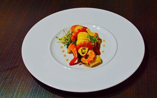 Tagliatelle cu spanac şi creveţi by Chef Paul Siserman