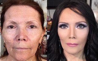 Machiaj perfect: Transformarea incredibilă a unor femei - FOTO