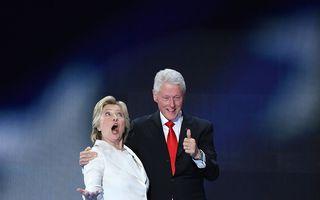 Alegeri SUA. Cum i se va spune lui Bill Clinton dacă Hillary câştigă alegerile: Primul Domn sau Primul Soţ?
