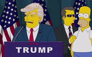 """VIDEO: Victoria lui Trump, prezisă de serialul """"The Simpsons"""" acum 16 ani"""