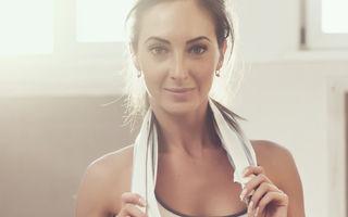 5 exerciţii simple care te menţin în formă