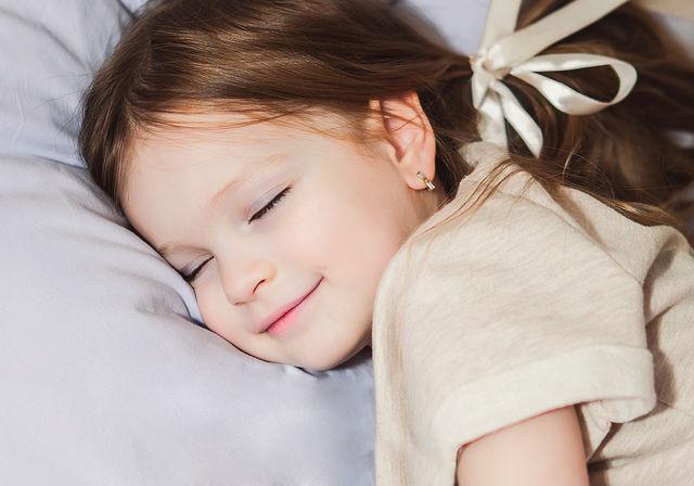 Copil care doarme